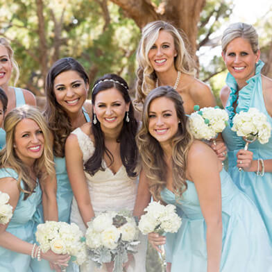 Bridesmaids Sedona Sky Wedding Ranch Lodge Sedona Arizona Venue