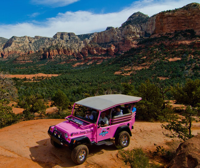 Sky Ranch Lodge Sedona Jeep Tour