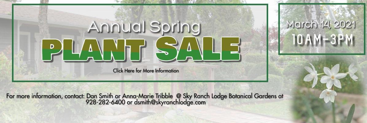 SRL Plant Sale Website banner